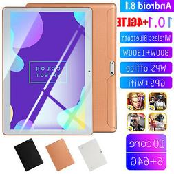 10.1 inch 4G-LTE Game Tablet Computer PC Android 8.0 Bluetoo
