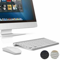 2.4GHz Mini Wireless Keyboard And Mouse Set Waterproof For A