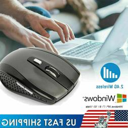 2.4GHz Wireless Gray Mouse Mice Adjustable DPI for PC Laptop