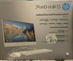 """HP 22 All-in-One Touchscreen Computer w/ 21.5"""" Display 22-df"""