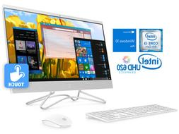 """HP 24"""" All-in-One Touch PC, i3-8100T, 8GB RAM, 512GB SSD, Wi"""