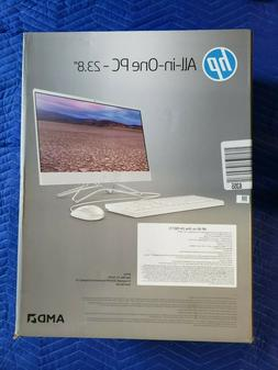 """HP 24-f10017c 23.8"""" All-In-One Computer with 7th Gen AMD A9-"""