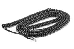 Cisco 25 Ft Gray Curly Cord  CP-Handset-Cord-25