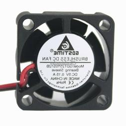 5V Mini 25mm Cooling Fan 25x25x10mm Brushless Small Cooler F