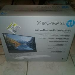 HP All-in-One 22-DF0013W, 22-inch diagonal FHD IPS monitor