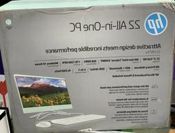 """Brand New HP 22 All-in-One PC 21.5"""", Intel Celerion G4900T 1"""