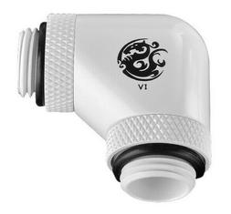 "Bitspower G1/4"" Male to Male Extender Fitting, 90° Dual Rot"