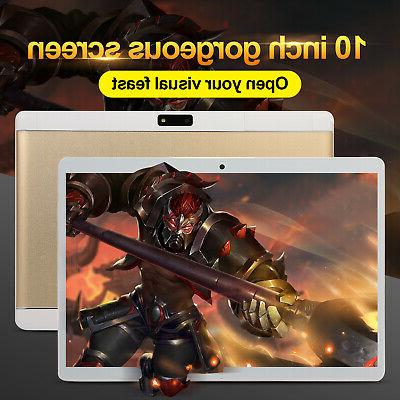 10.1 Inch HD Game Tablet Computer PC Android 8.0 6G+64GB Wif
