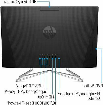 """HP - 23.8"""" All-In-One 3-Series - - 256GB"""