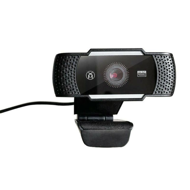 60FPS USB 1080P Computer Webcam With