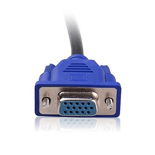 Cable Splitter Cable - 1 Foot