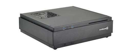 SilverStone Milo Mini-ITX / DTX Form Computer Case with Card,