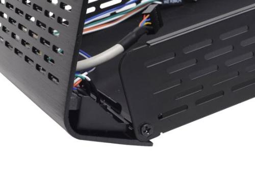 Silverstone Tek Top Cover/Steel Thin Mini-ITX Media - Black