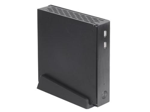 Silverstone Tek Cover/Steel Body Media Center/HTPC Case PT13B - Black