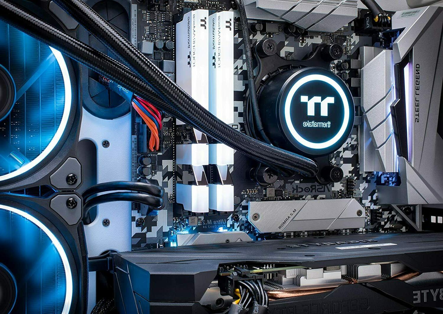 Thermaltake AIO Cooled Gaming PC AMD 5 3600