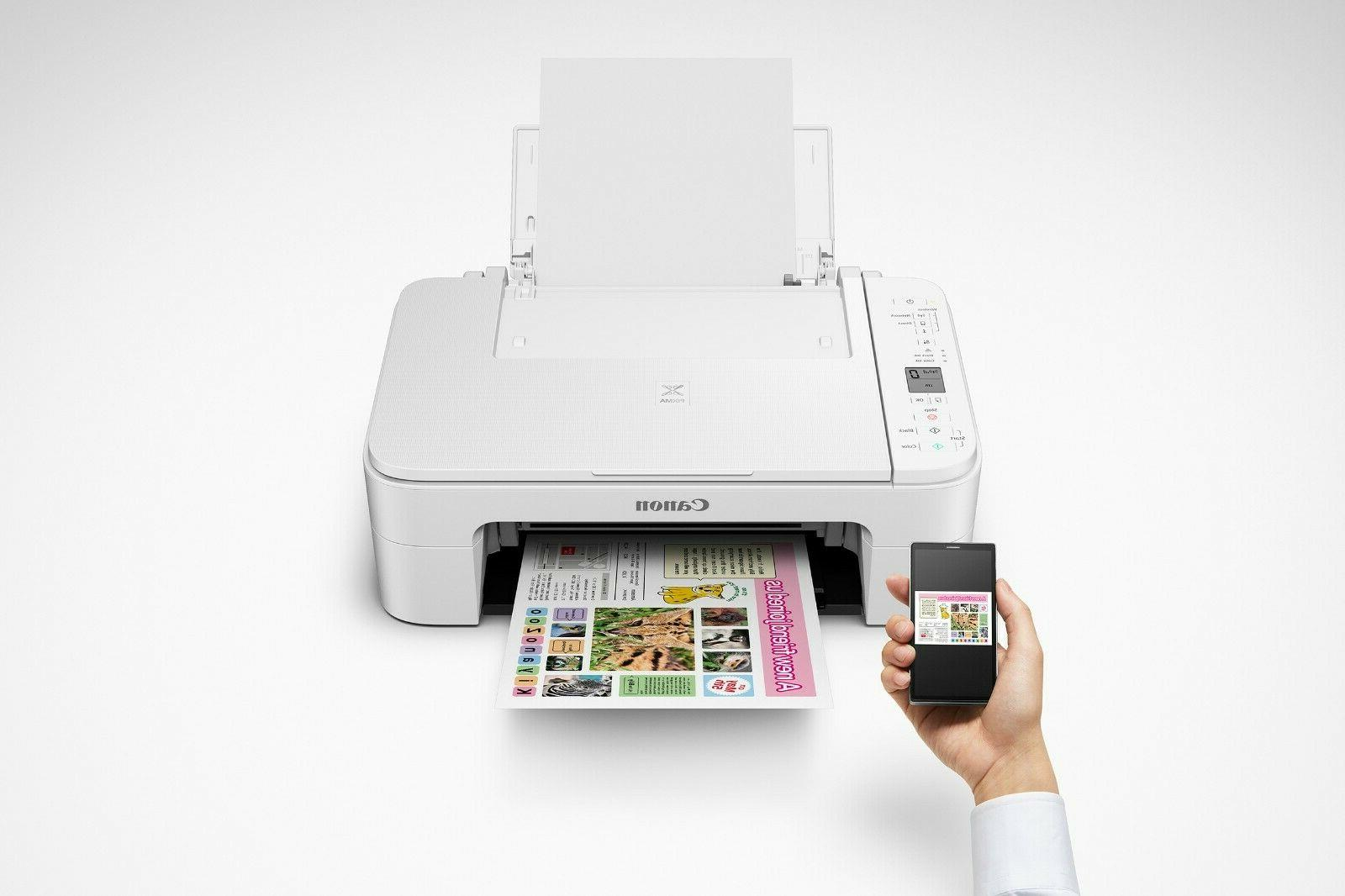Printers All In One Wireless On Office Compact Desk