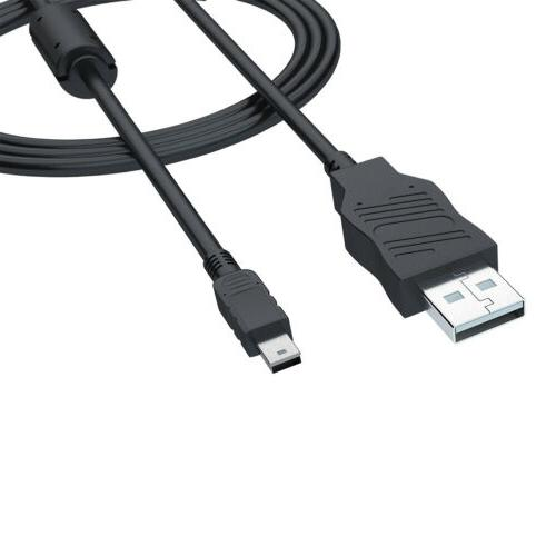 USB Cable CANON Cameras Black Mini