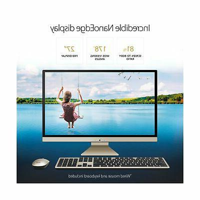"""ASUS V272UA-DS501T 27"""" All-in-One Intel Core"""