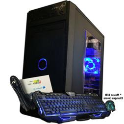 Intel i7 Gaming PC Desktop 1TB 2TB 16GB SSD Mini Computer Wi