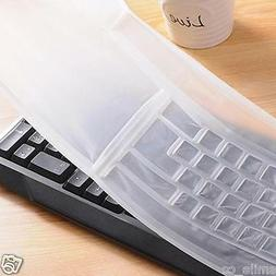 New Universal Silicone Desktop Computer Keyboard Cover Skin
