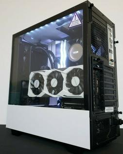 WHITE NINJA Gaming PC i9 9900k 512GB 32GB RTX 2080 Custom Co