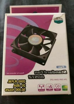 Cooler Master Rifle Bearing 80mm Silent Cooling Fan 80ST2 fo