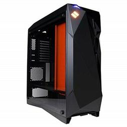 CyberpowerPC SXCL100 Syber ATX Full Tower RGB Gaming Case, B