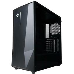 CyberPowerPC Syber M SMC200 Mid-Tower Gaming Case with Windo