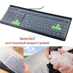 Universal Silicone Desktop Computer Keyboard Cover Skin Prot